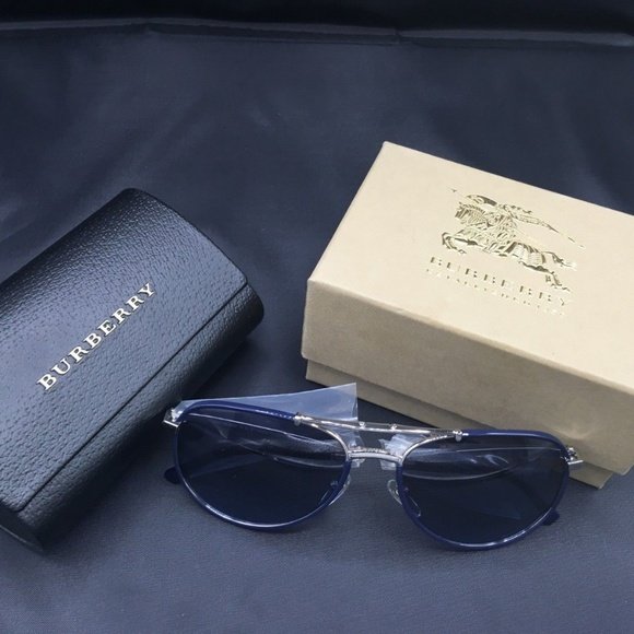 ef9d6418de11 Burberry Folding Pilot Men s Sunglasses